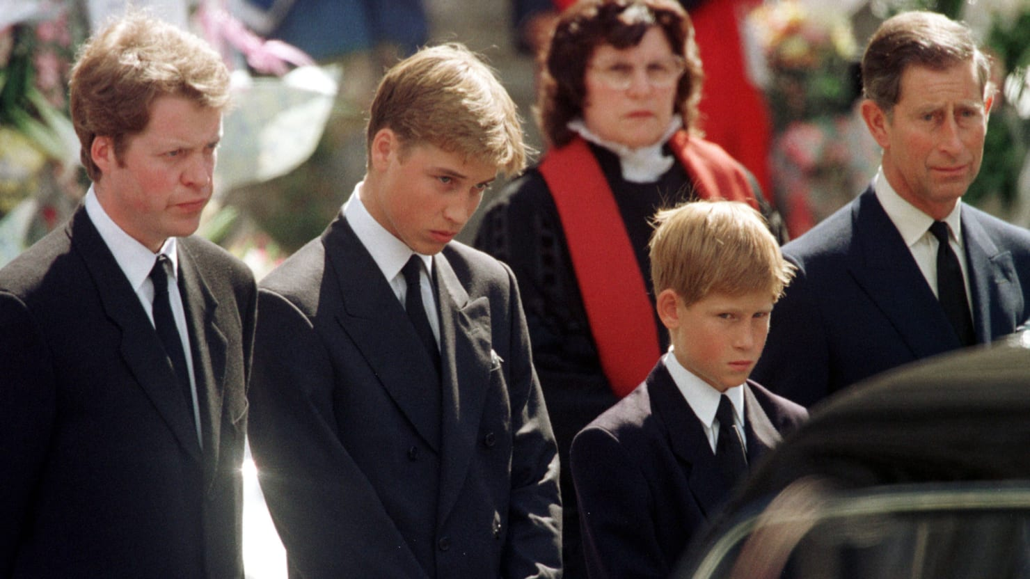 Prince Harry Slams Charles for Making Him Walk Behind Diana's Coffin