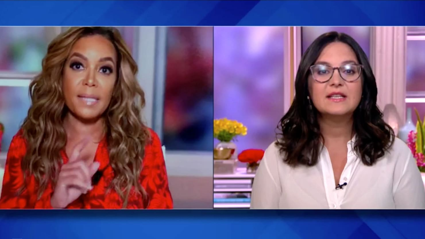 'The View's' Sunny Hostin Schools Bari Weiss on 'Court Packing'