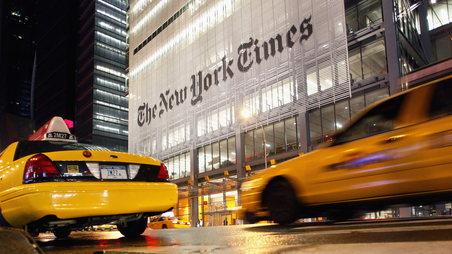 New York Times Staffers Sent 'Outraged' Letter to Bosses ...