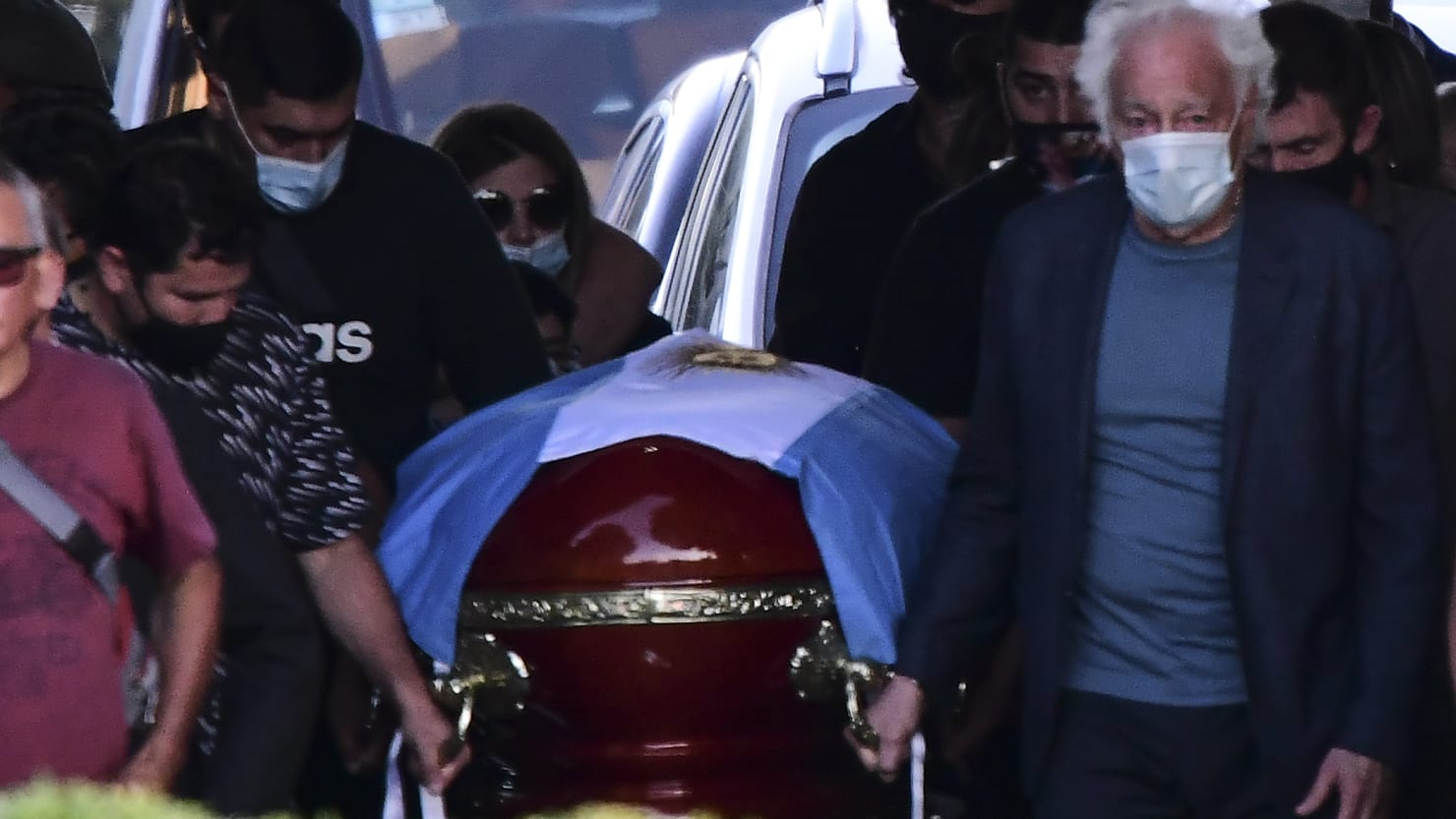 Funeral Workers' Selfies With Body of Diego Maradona Spark Outrage