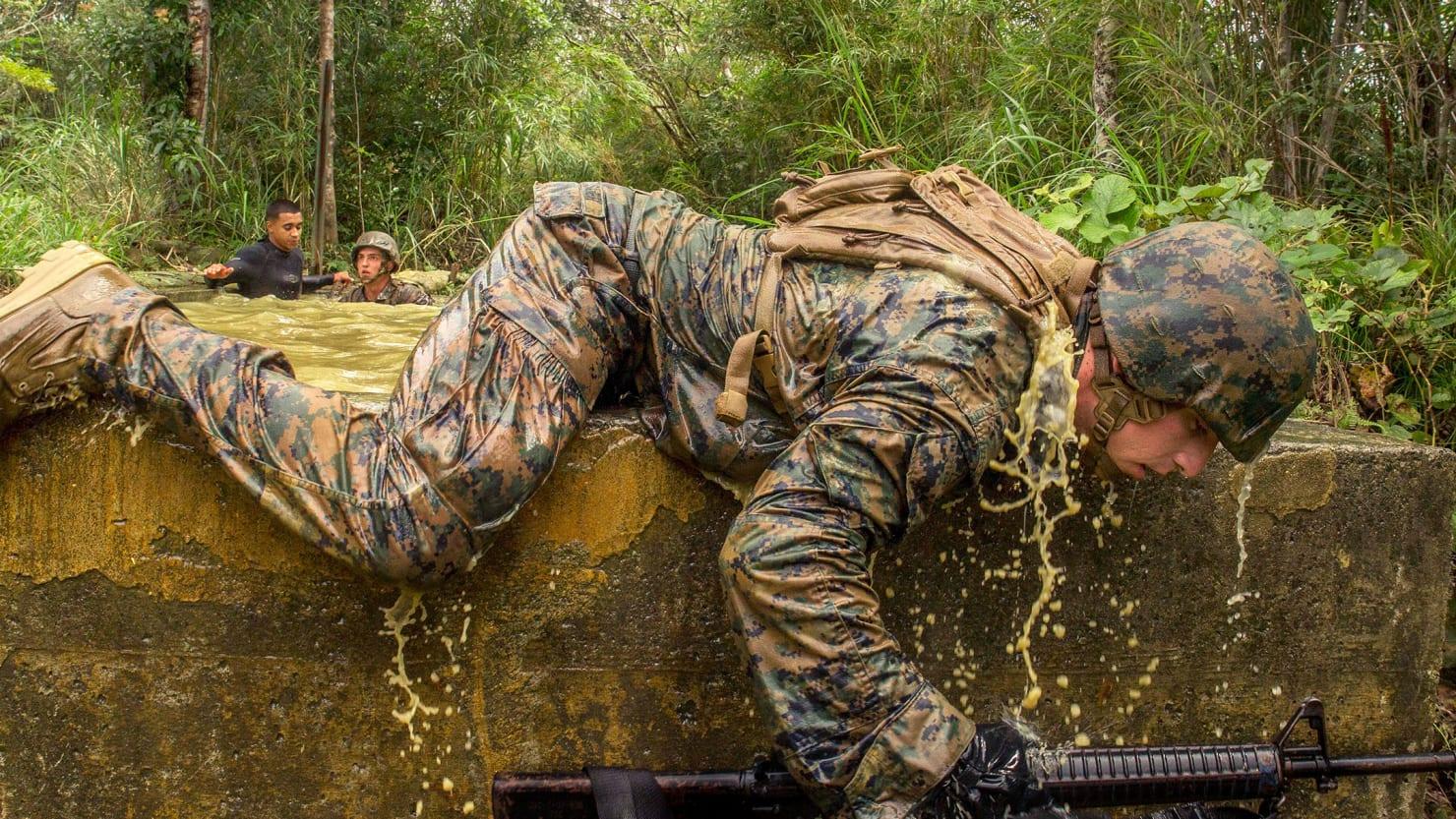 US Marines Photo Alamy
