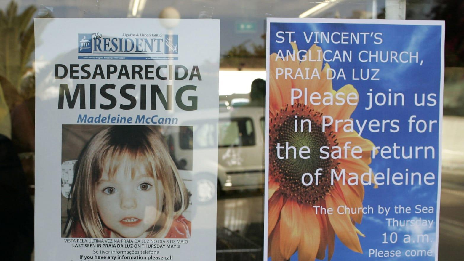 Freud's Grandson Linked to Madeleine McCann and VIP