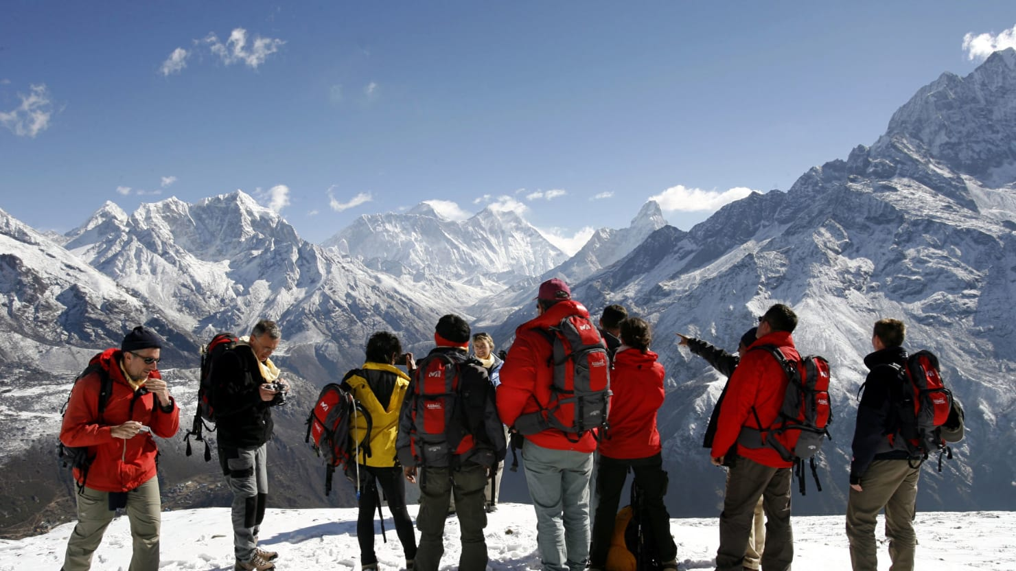 Human Traffic Jams Have Led to 18 Deaths on Mt. Everest