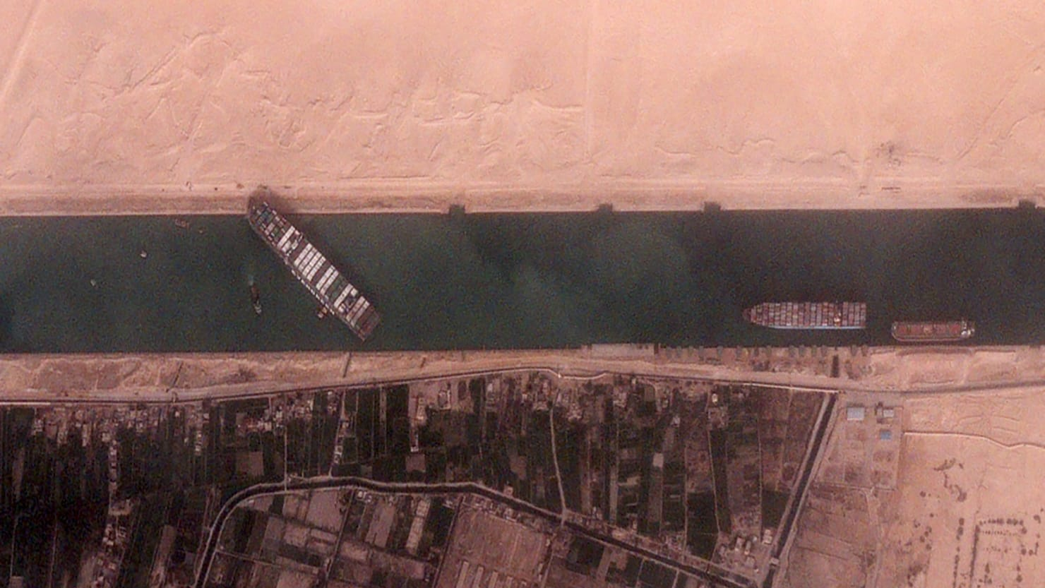Ships Affected by Suez Canal Jam Have a New Problem: Pirates