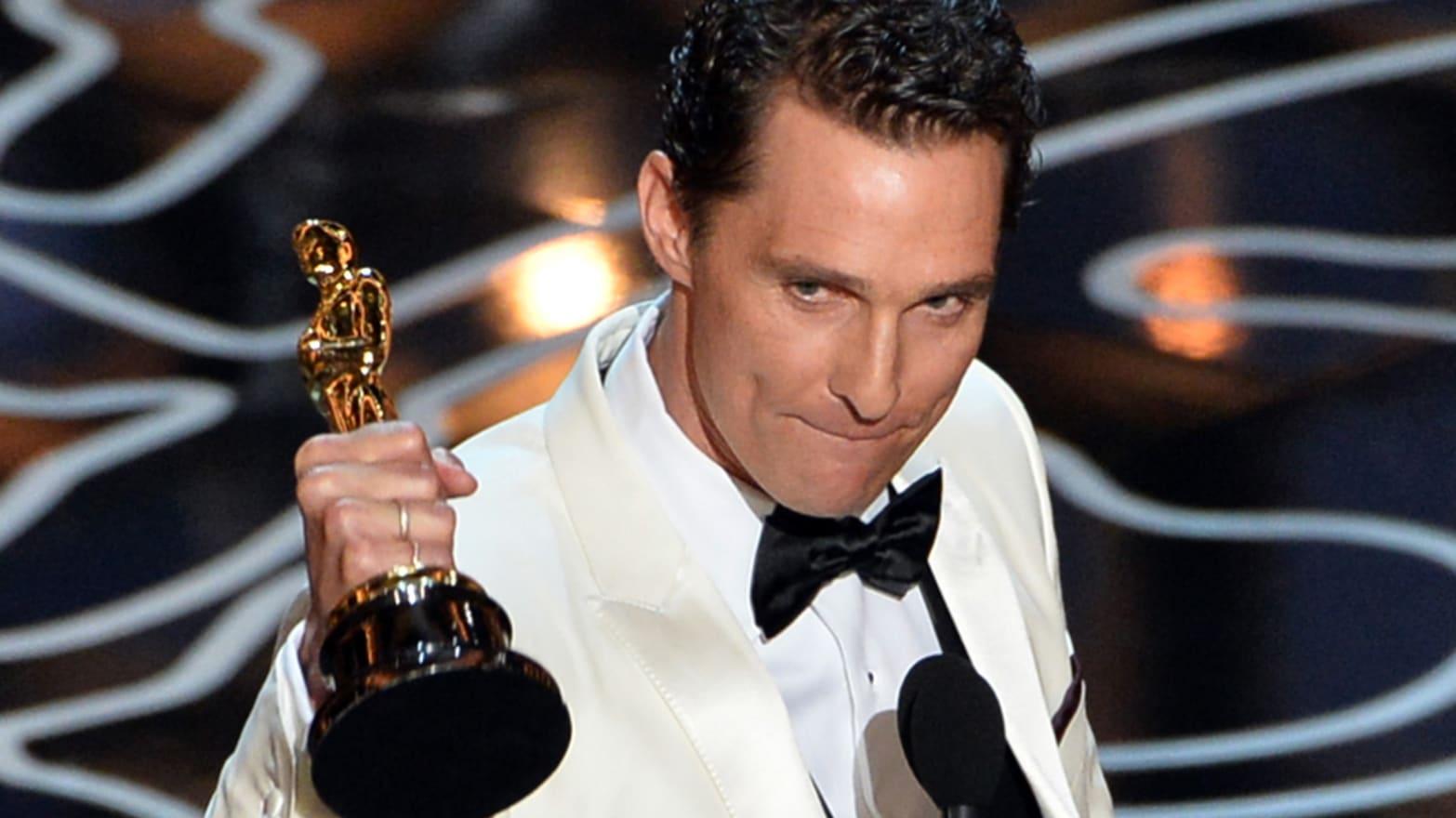 Inspirational Oscar Speech – Matthew McConaughey
