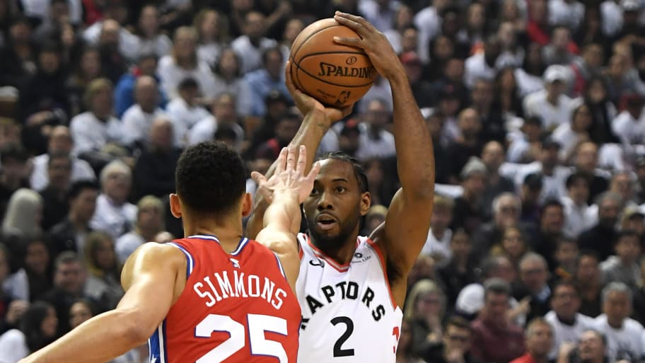 fb6c630aa Dan Hamilton USA TODAY Sports Reuters. Toronto Raptors star Kawhi Leonard  ...