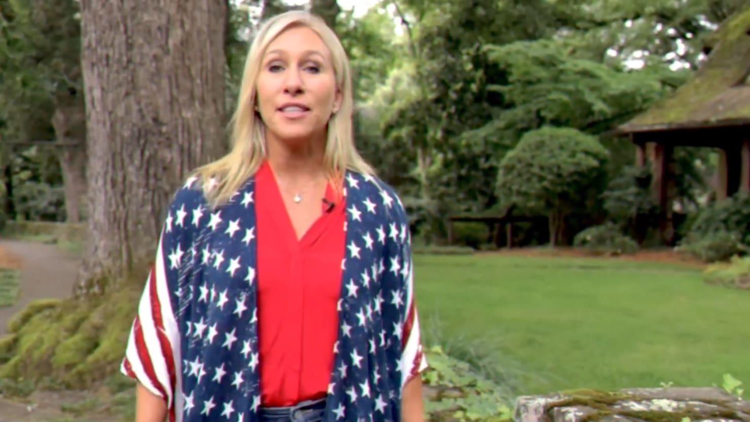 QAnon Supporter Marjorie Taylor Greene Wins Georgia Republican Primary