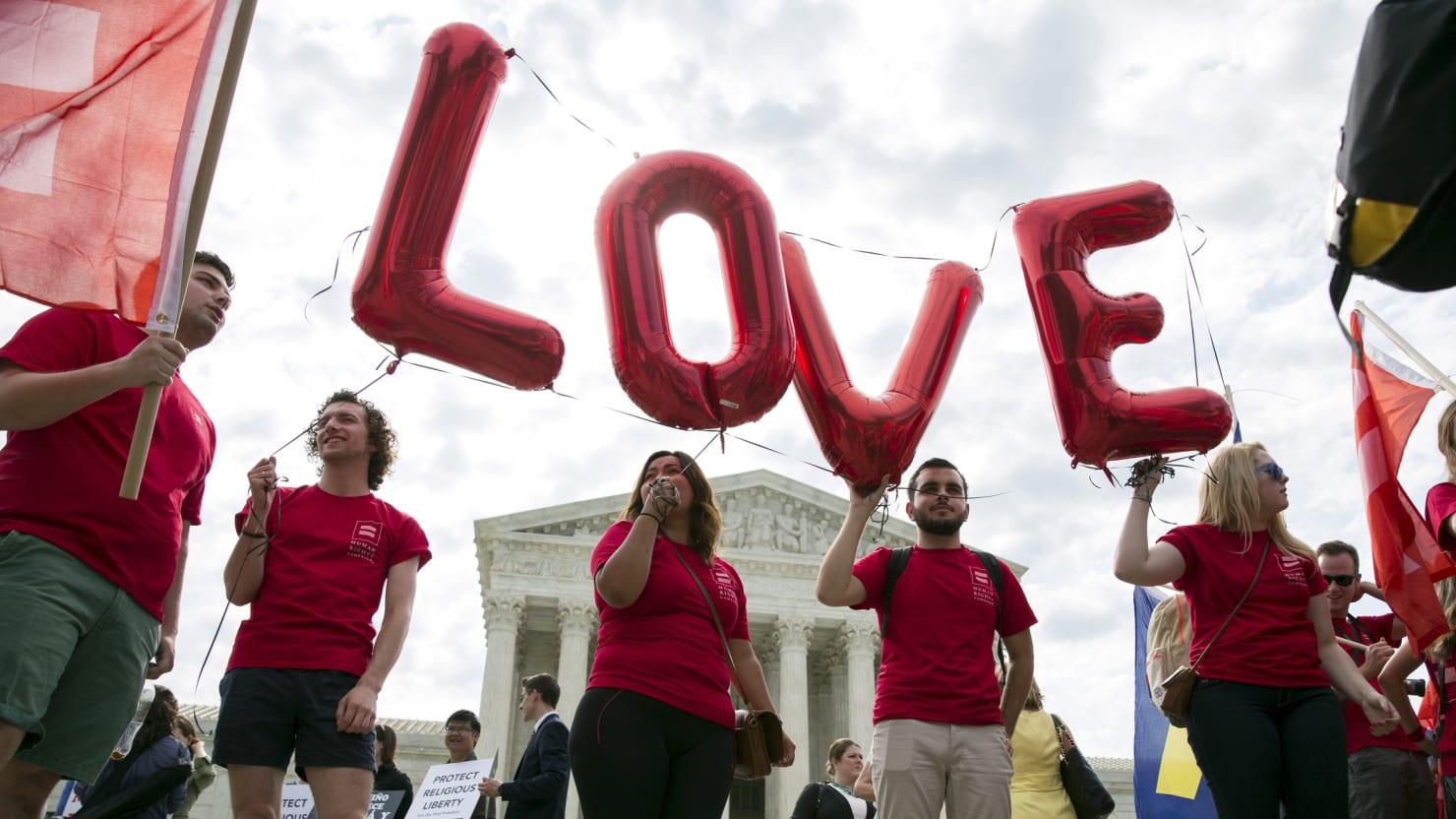 No ala discriminacion homosexual marriage