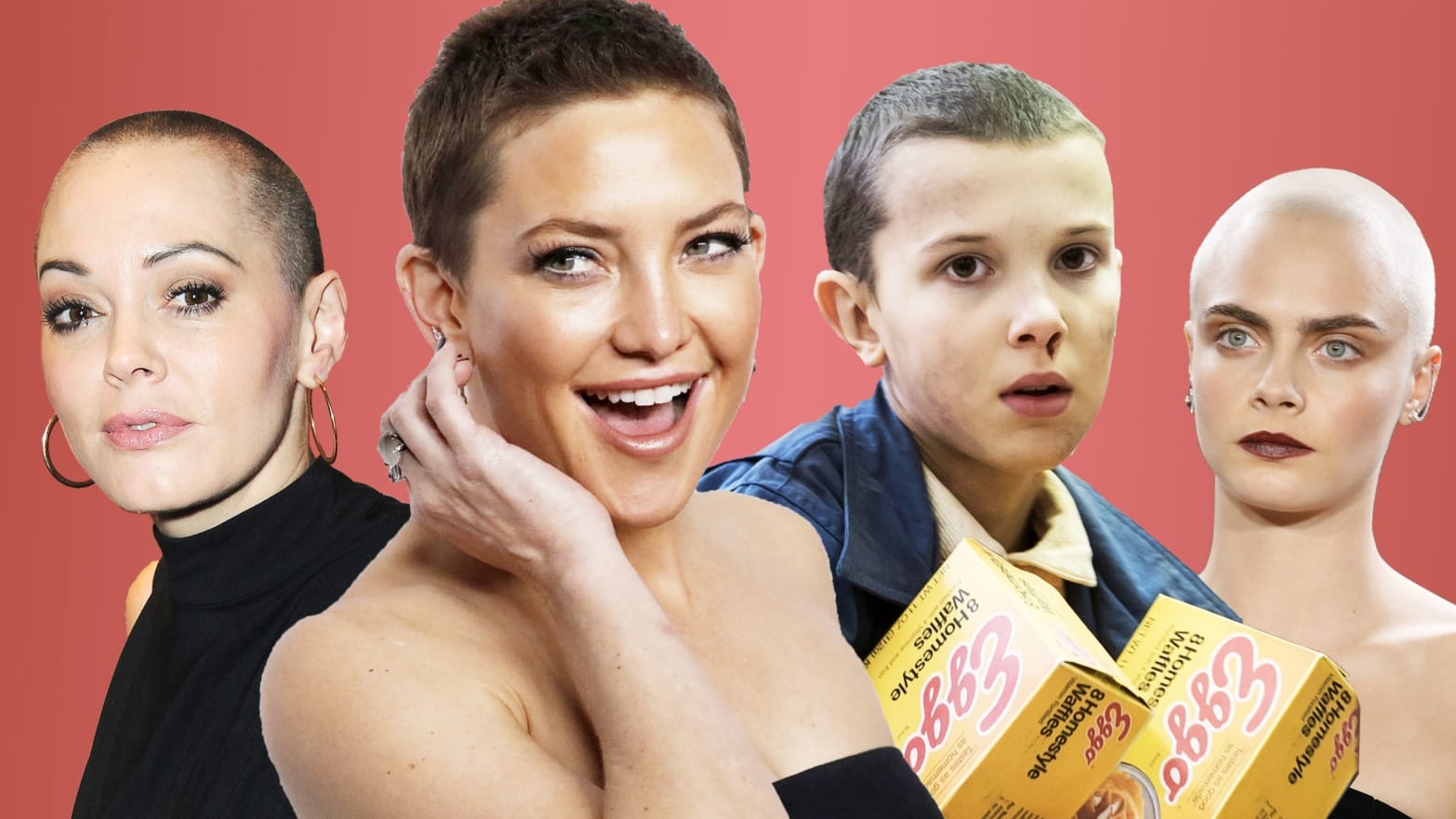 buzz cuts are the ultimate sign of female power