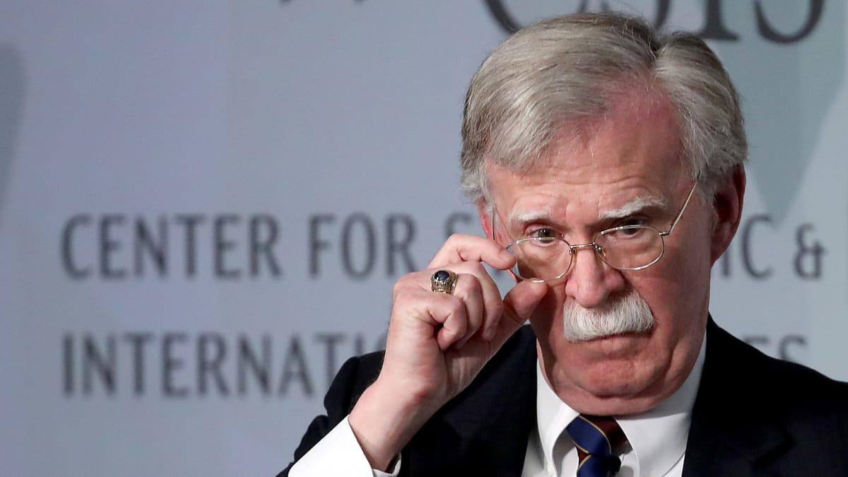 John Bolton 'Let Down' Country For Sitting Out Impeachment, Says Former Aide