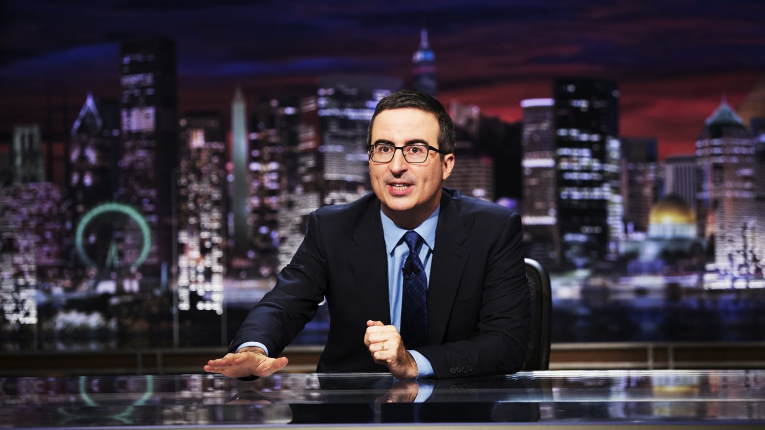John Oliver 'Last Week Tonight' Exposes 'Most Shocking' Part of Mueller Report