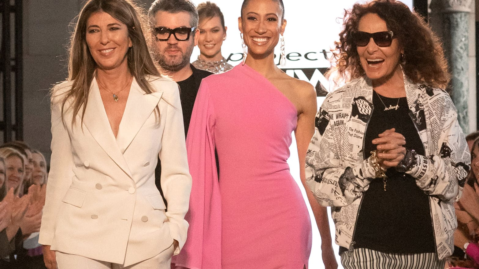 Inside the 'Project Runway' Finale Runway Show