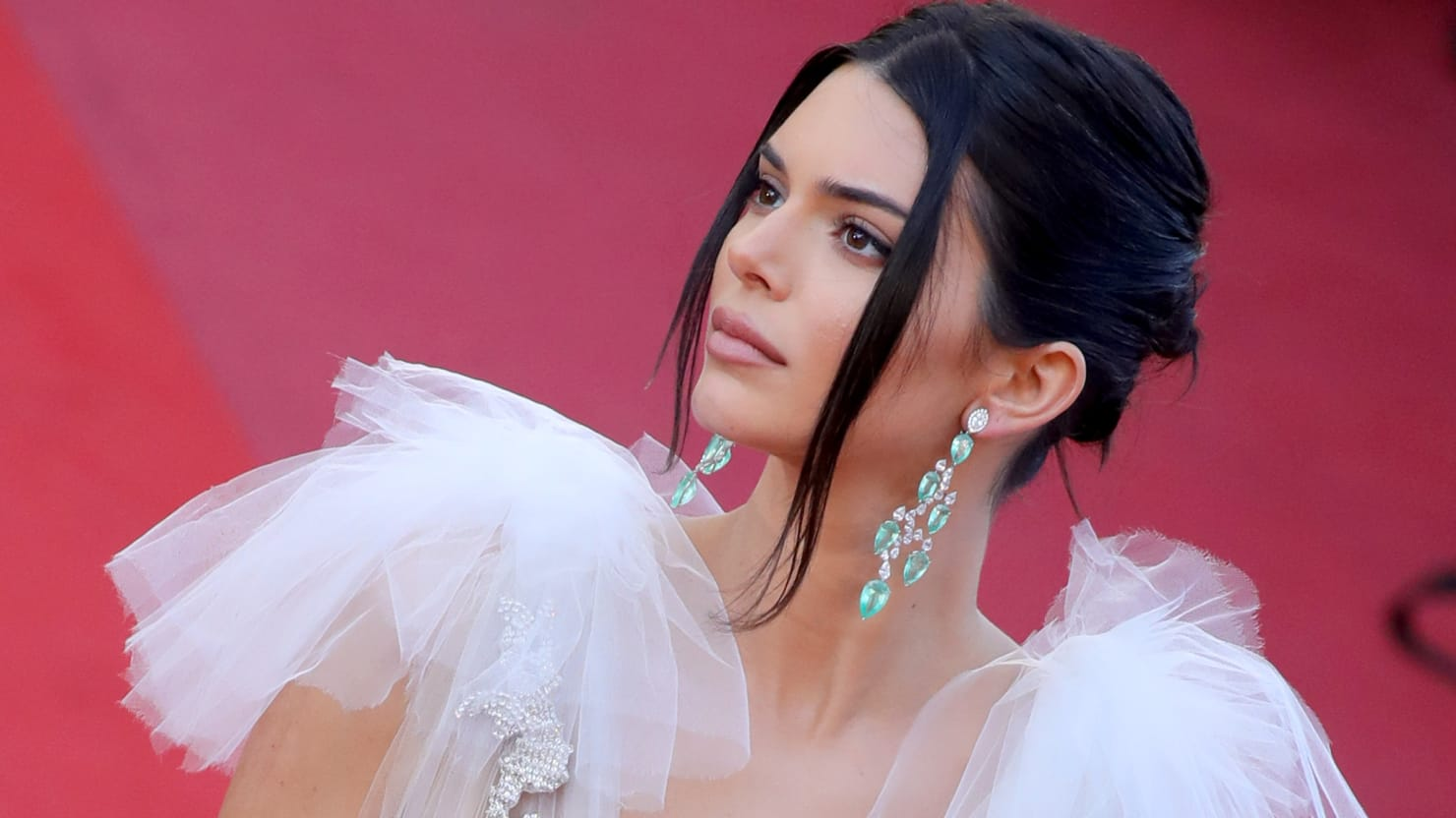 Nude Pictures of Kendall Jenner Riding a Horse And Running Along a Beach Leak Online