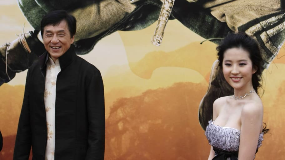 'Mulan' Star Liu Yifei, Jackie Chan Under Fire for Siding With China Over Hong Kong Protests