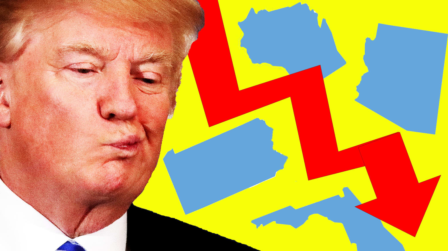 The Four Red States Where Trump 2020 Is Already in Trouble