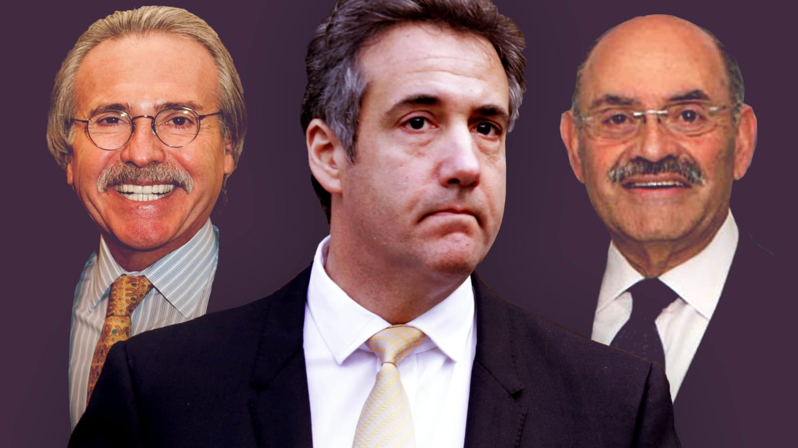 Feds Needs To Get Their Facts Straight >> Cohen Pecker Weisselberg The Men With Trump S Secrets Work For