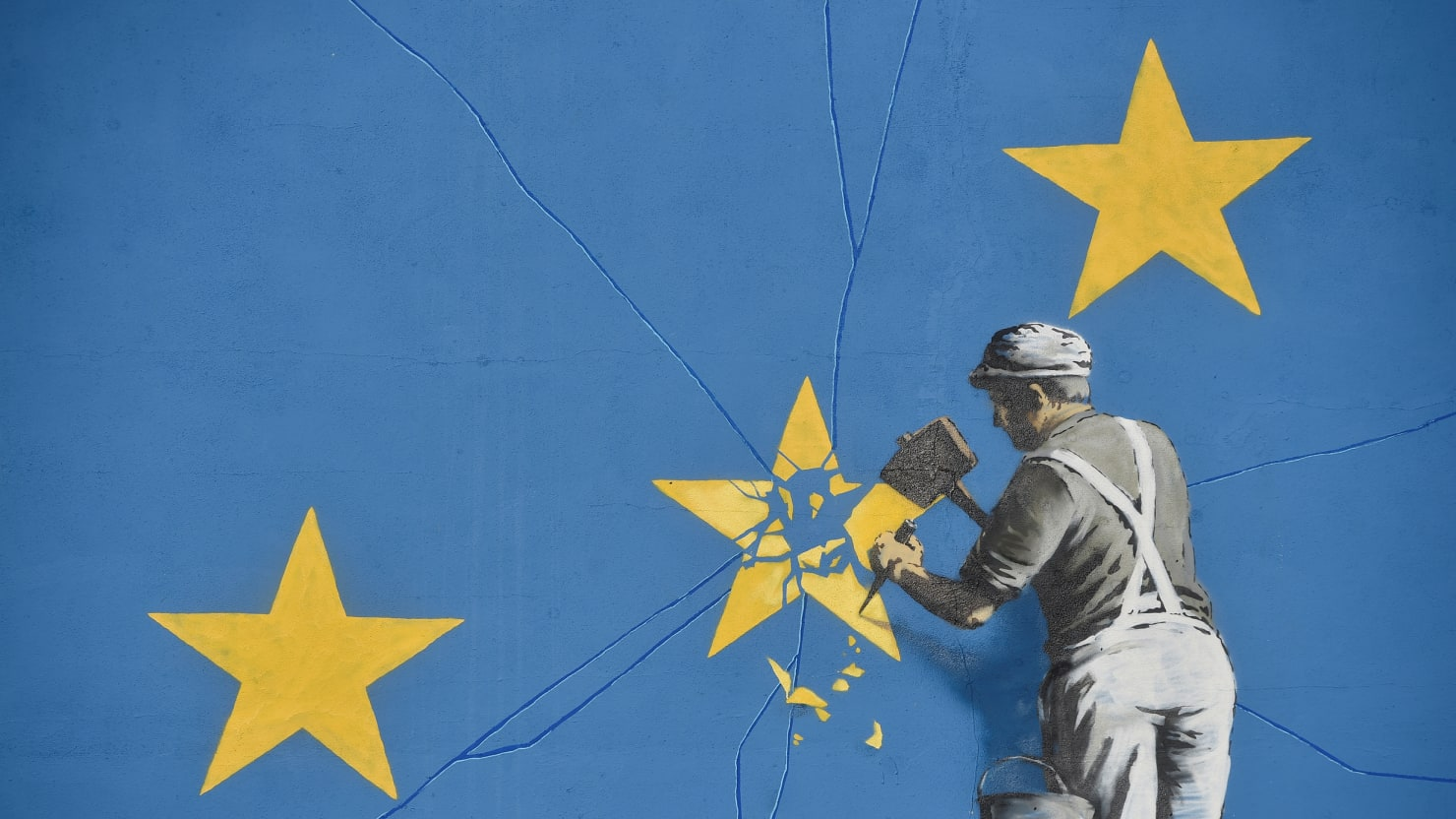 Main Street Auto >> New Banksy Brexit Mural Appears