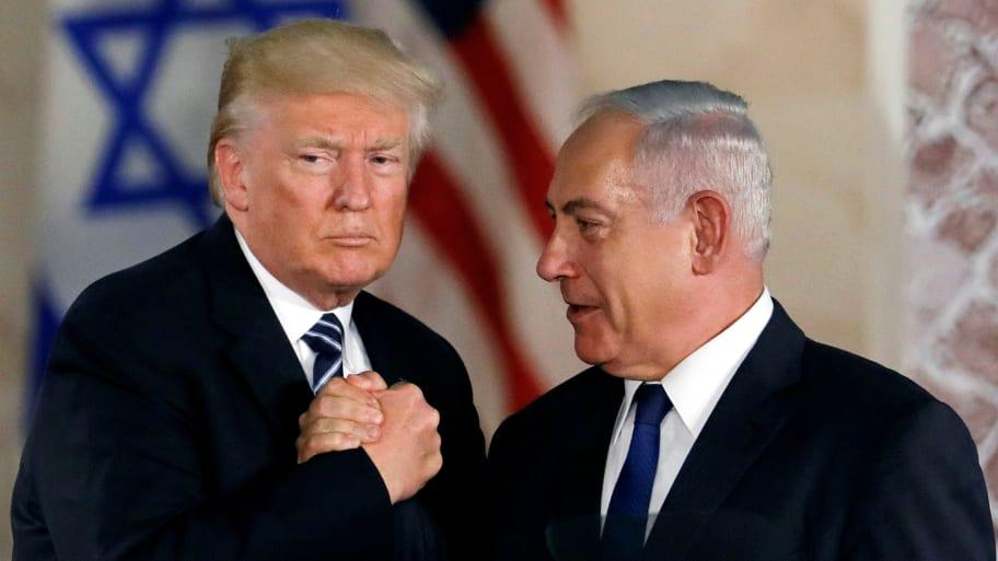 Donald Trump Says He's Working With Benjamin Netanyahu on Defense Treaty Ahead of Israeli Elections