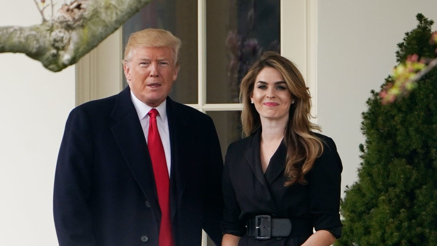 White House Counsel: Hope Hicks Is 'Immune' From Questions About Her Time in Trump Administration
