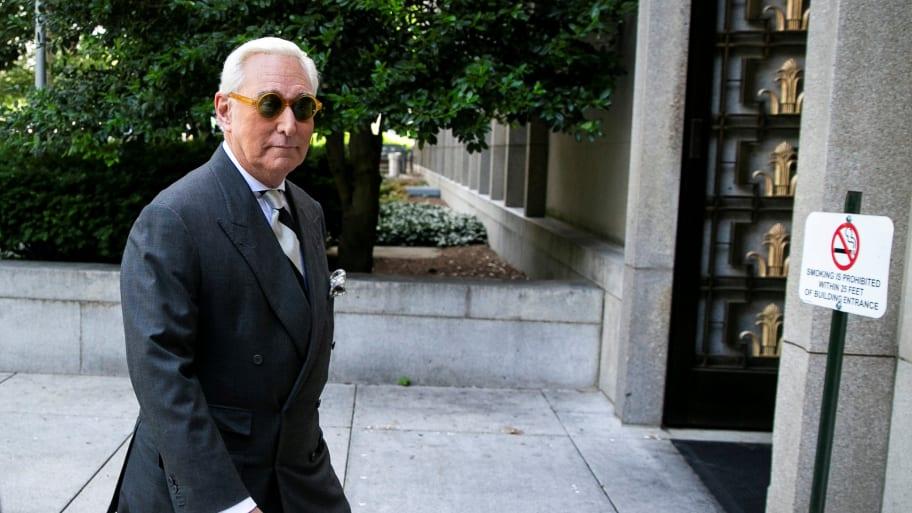 Judge Rules Roger Stone Violated Gag Order, Bars Him From Social Media