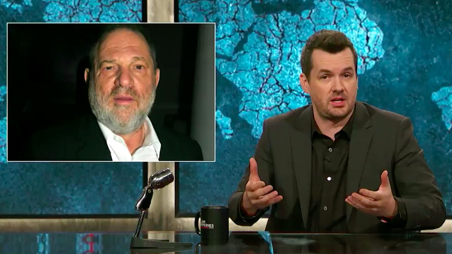 Jim Jefferies Admits He Was 'Ignorant' About Sexual Harassment Before Harvey Weinstein