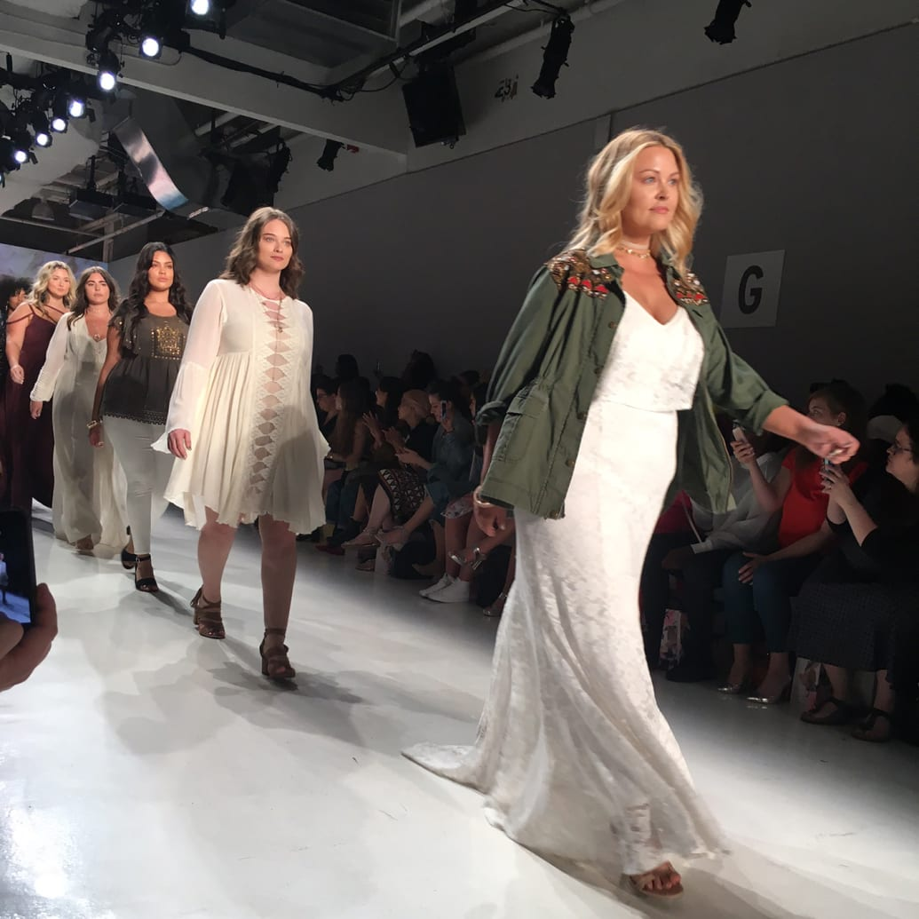 The label Torrid staged a show devoted to plus-size fashion at NYFW.