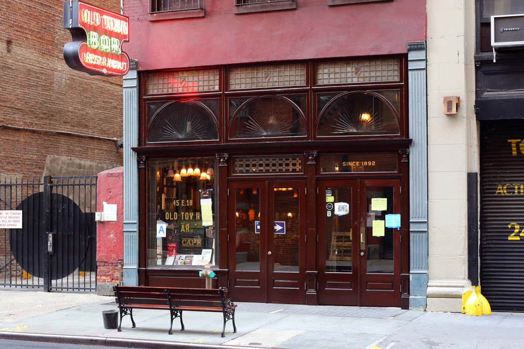 The exterior of Old Town Bar