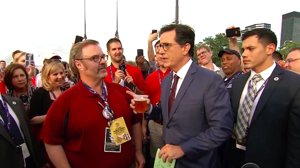 Stephen Colbert Stumps RNC Delegates With Game of 'Trump or False'