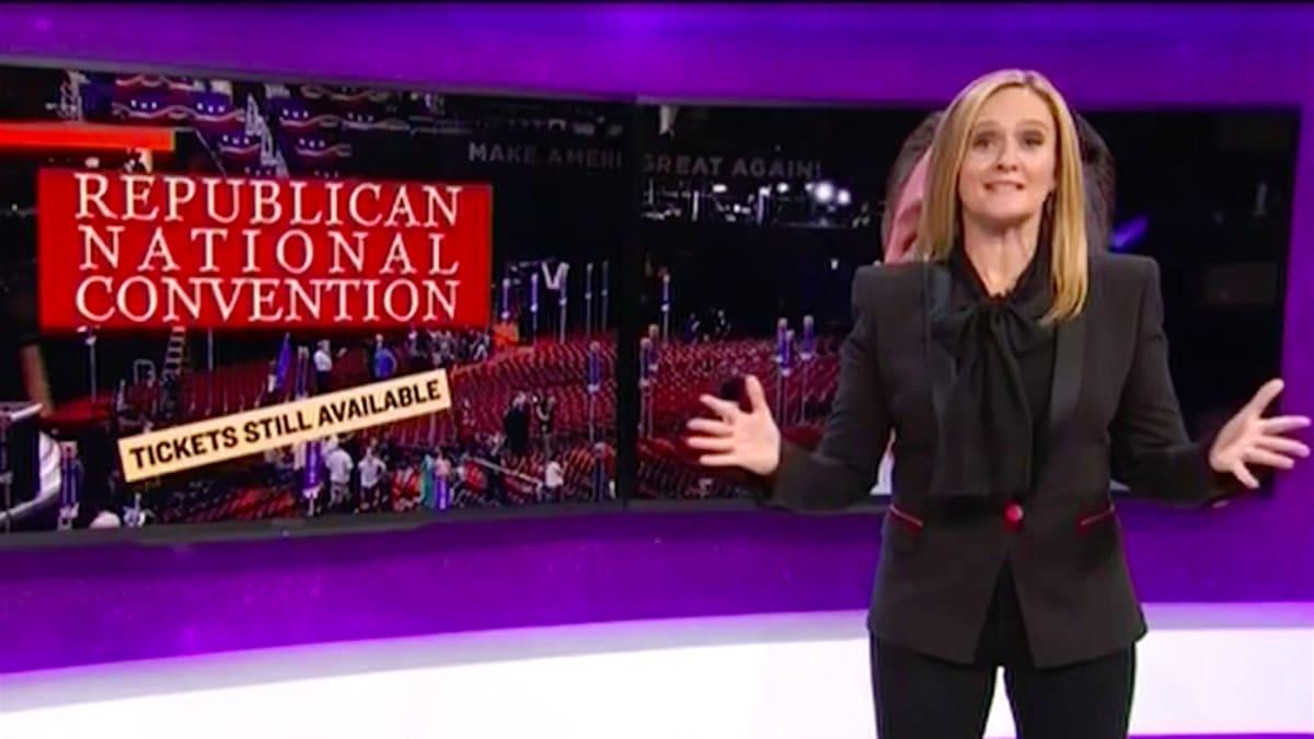 Samantha Bee Mocks the RNC Crazy, Slams Mike Pence's Anti-Woman Crusade