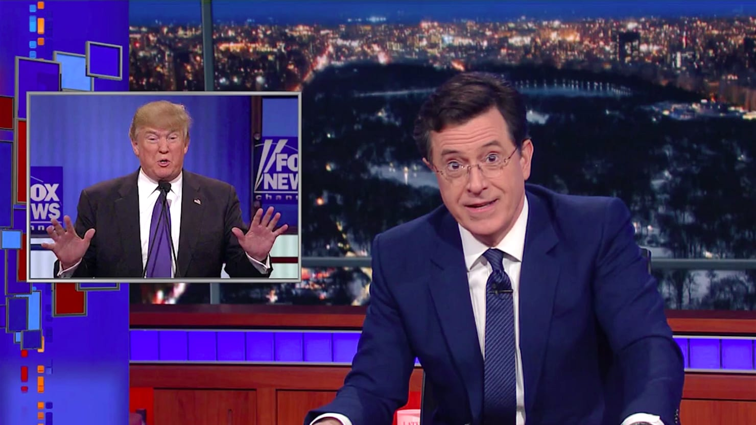 Stephen Colbert Goes Off on Donald Trump's Penis Defense: A 'New Low' in Politics
