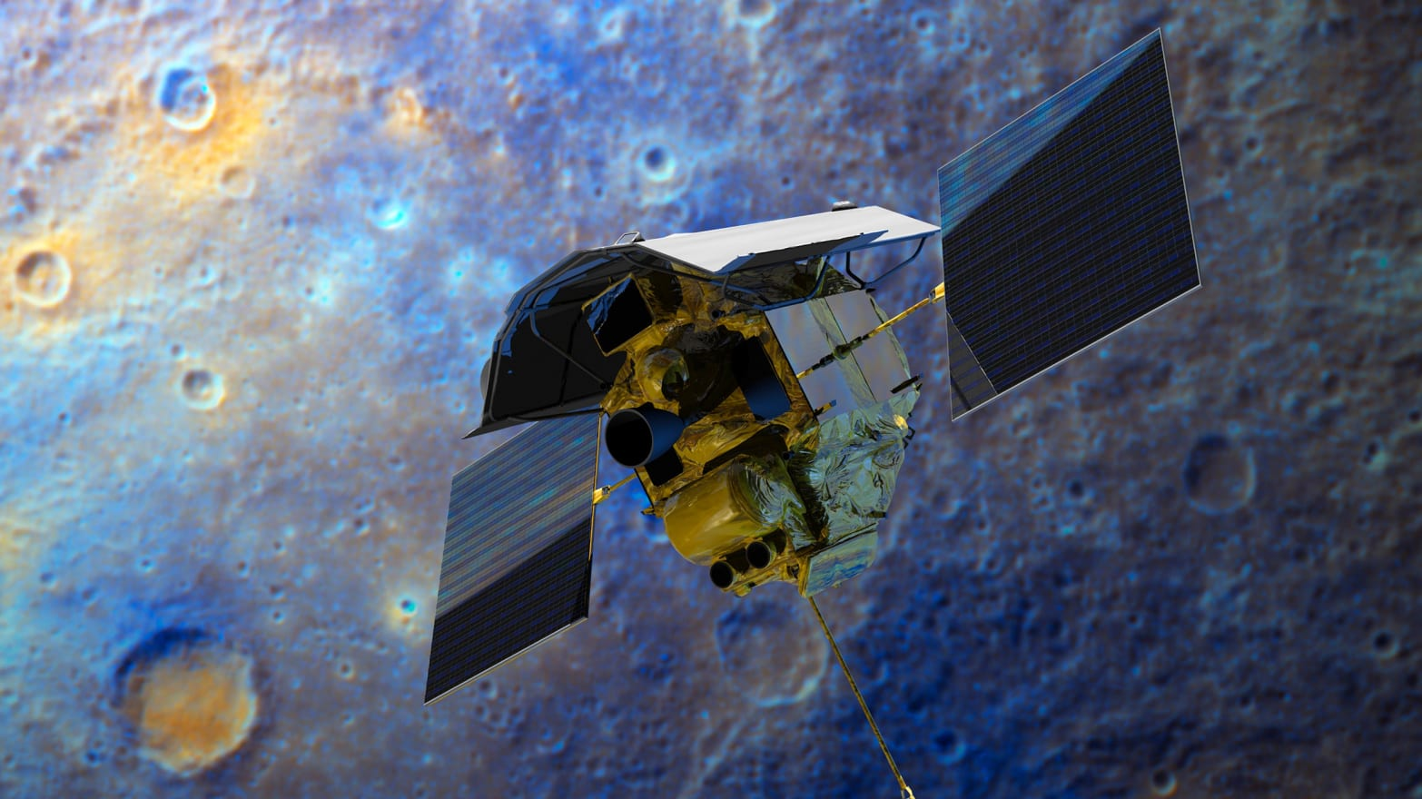 MESSENGER Probe Crashes Into Mercury