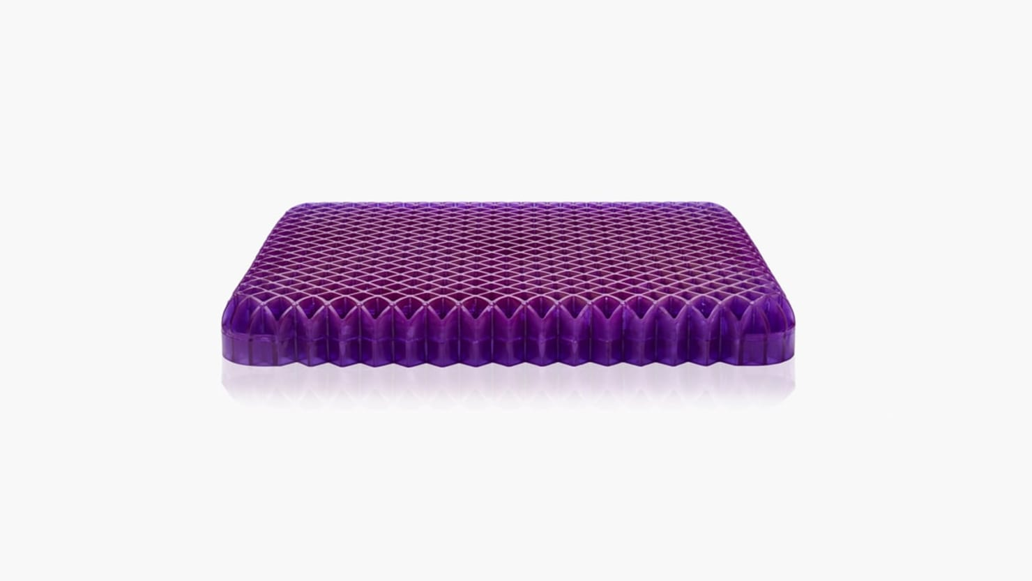 Purple's Seat Cushion Makes Any Chair The Most Comfortable Place to Sit