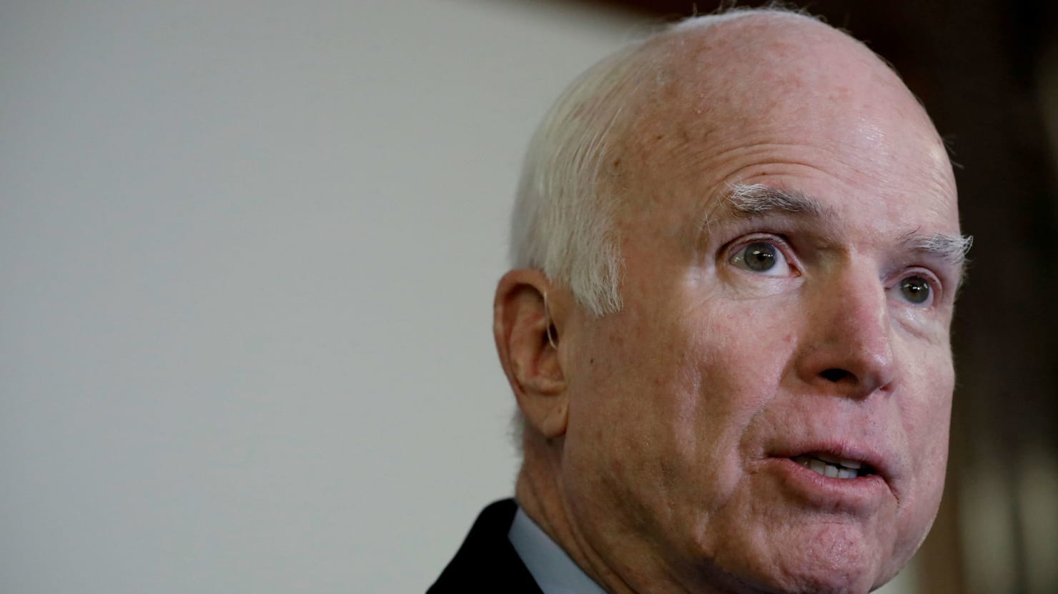 McCain Defends Giving Trump Dossier to Comey: 'Duty Demanded I Do' It