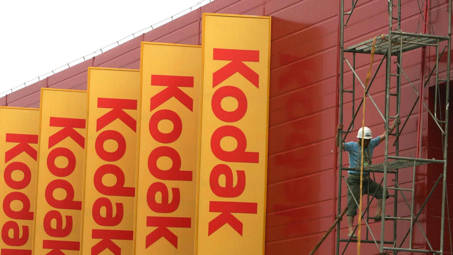 Before It Got a Sweetheart Deal From Trump, Kodak Sponsored His Show