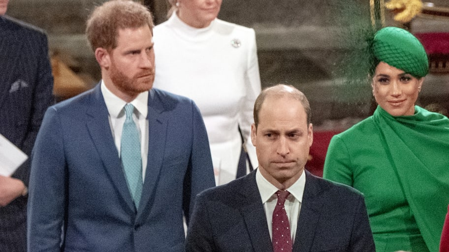 Prince Harry and Prince William Will Not Walk Shoulder to Shoulder at Their Grandfather Prince Philip's Funeral