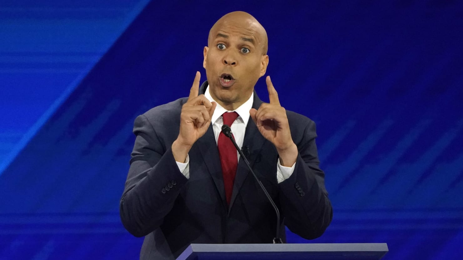 Cory Booker's Campaign Issues Dire Warning About His Presidential Run