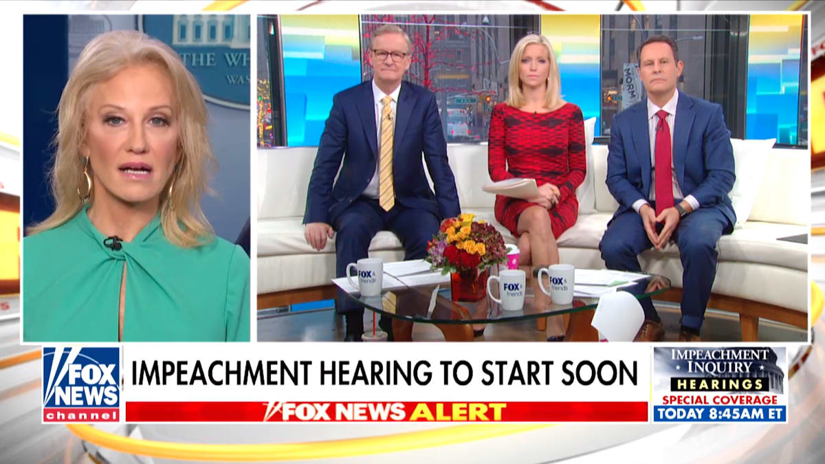 'Fox & Friends' Host Brian Kilmeade Presses Kellyanne Conway: Is Rudy Giuliani Working for Trump or Himself?