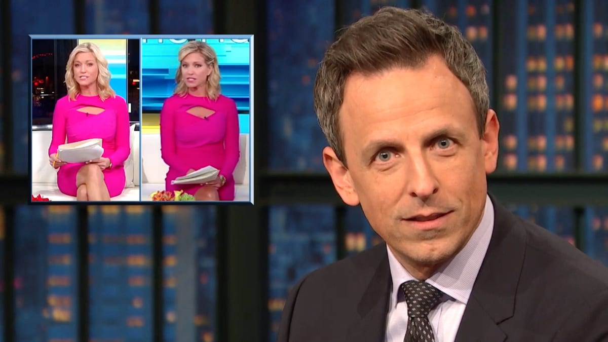 Seth Meyers Exposes 'Self-Serving Hypocrite' Fox News Host Ainsley Earhardt