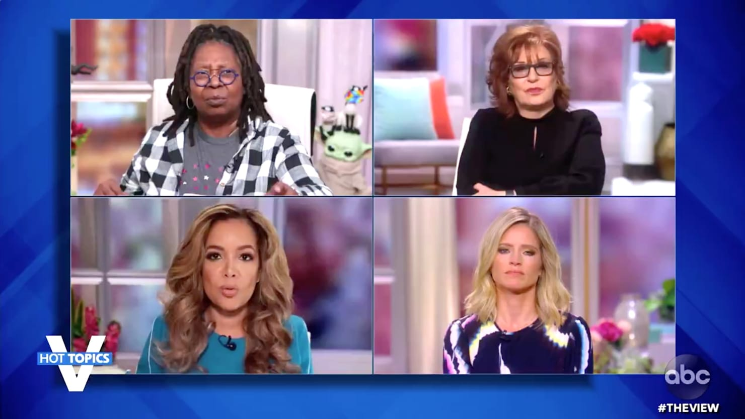 'He's Learned Nothing!': 'The View' Rips COVID-Riddled Trump