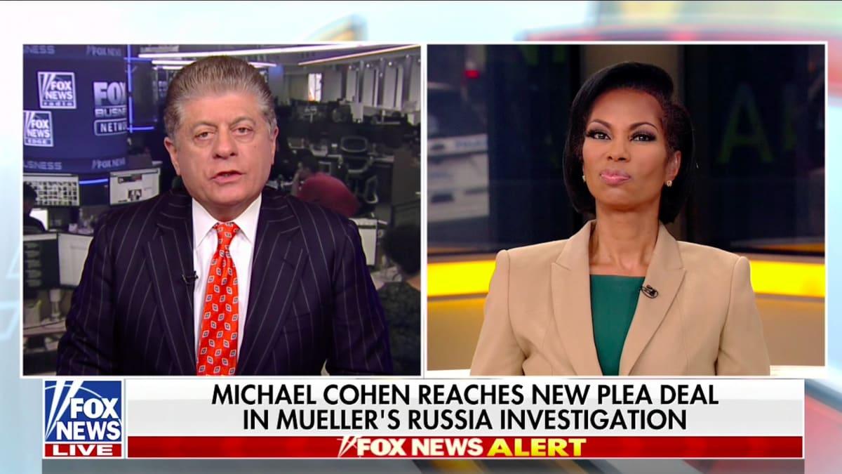 Judge Napolitano Patiently Explains Michael Cohen's Plea to Dismissive Fox News Hosts