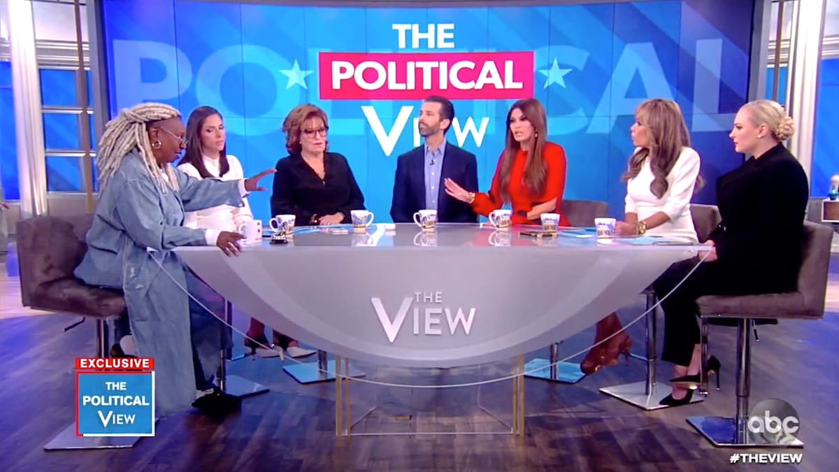 Donald Trump Jr. and Kimberly Guilfoyle Went on 'The View' and It Was a Total Shitshow
