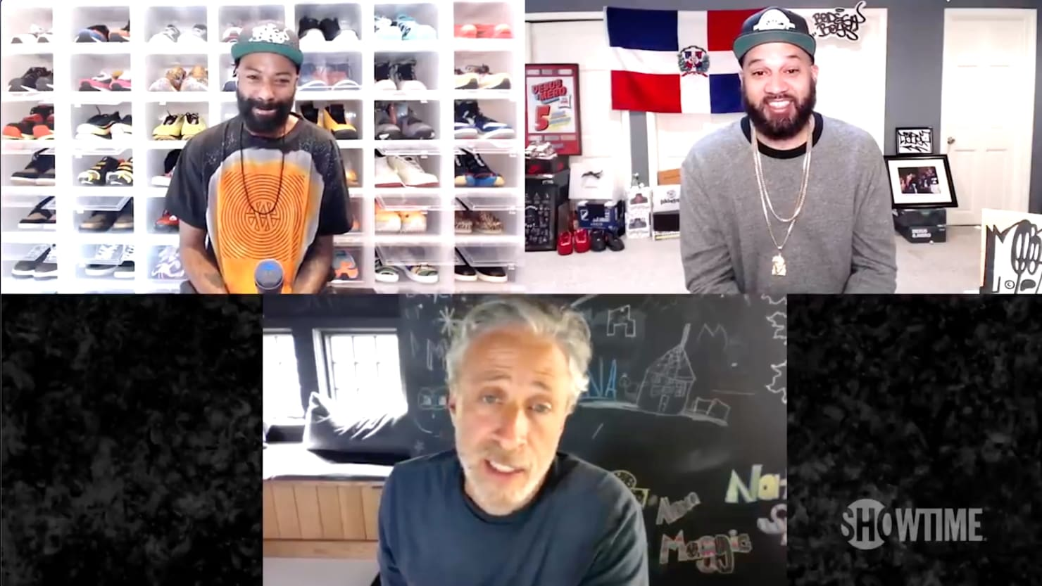 Jon Stewart to Desus and Mero: Late-Night Hosts Can't Solve Anything