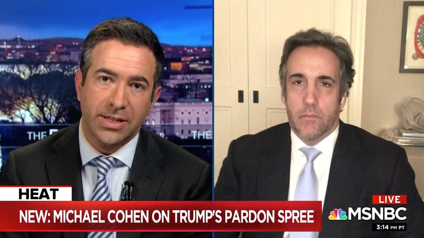 Michael Cohen Predicts Trump's Pardons 'May Ultimately Be His Downfall'