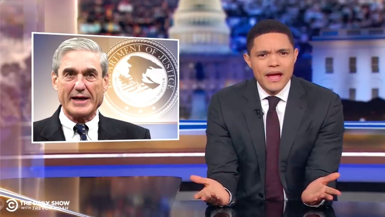 'Daily Show's' Trevor Noah on Mueller Report: 'Are You Shitting Me Right Now?!'