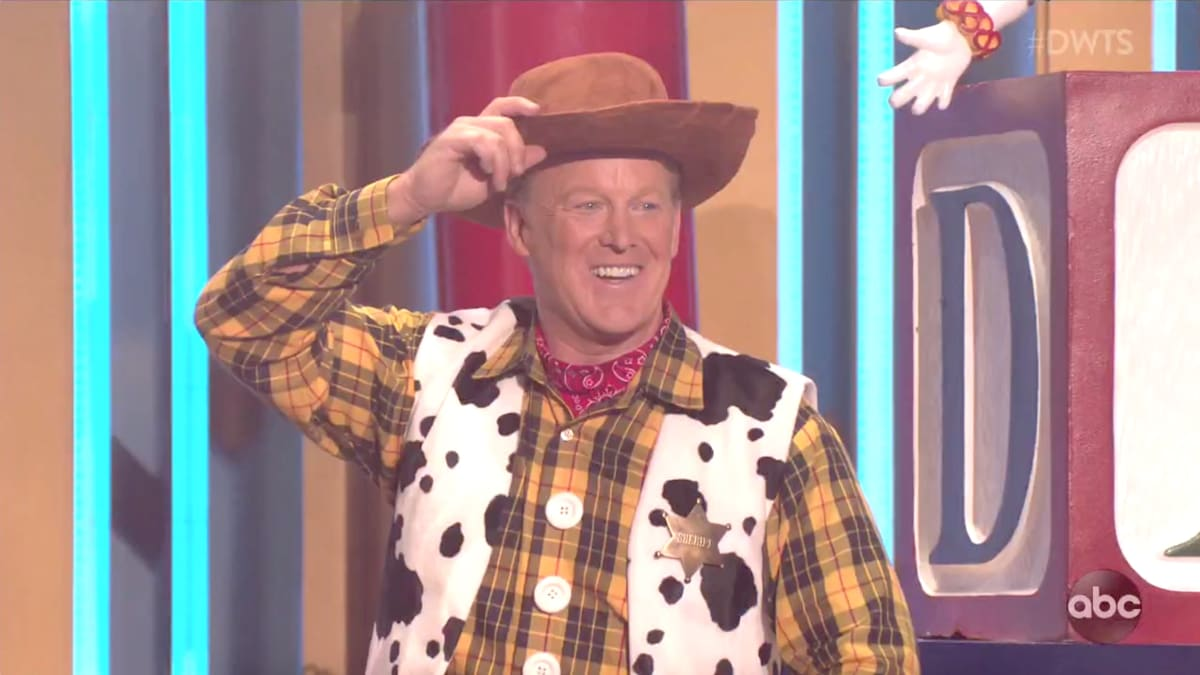 Sean Spicer Goes Full Woody From 'Toy Story' in Bizarre 'Dancing With the Stars' Performance
