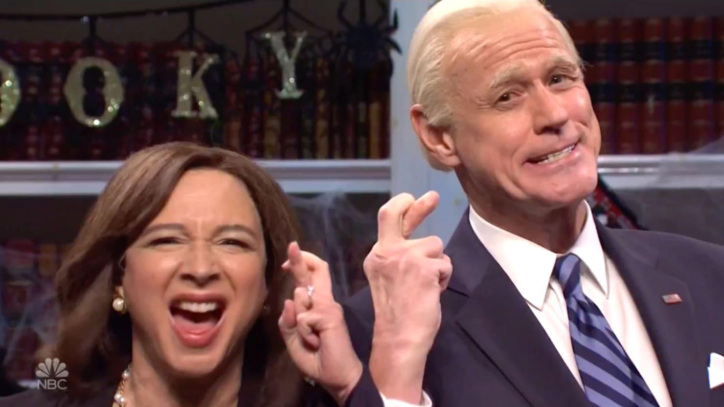 SNL Ditches Trump to Bet on a Joe Biden and Kamala Harris Victory