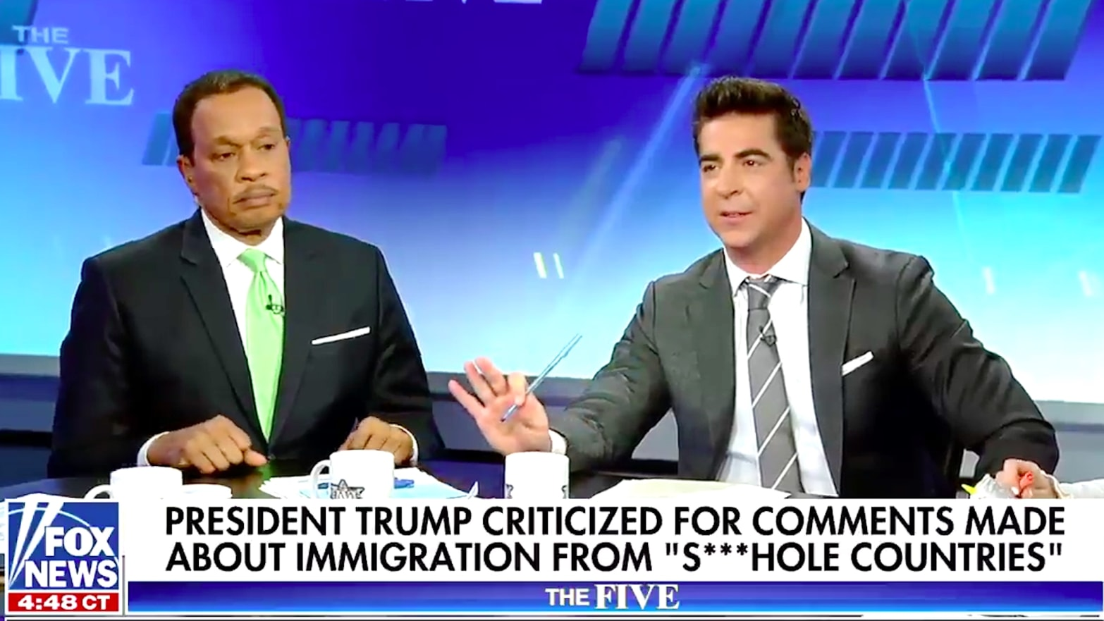 Fox News Hosts Are Actually Defending Trump's 'Sh*thole