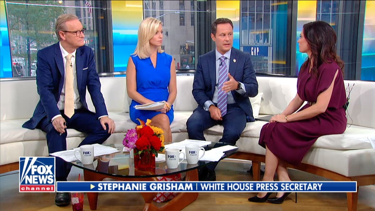 White House Press Sec Stephanie Grisham: Trump 'Put a Stop' to Briefing Because Reporters Were Being Mean