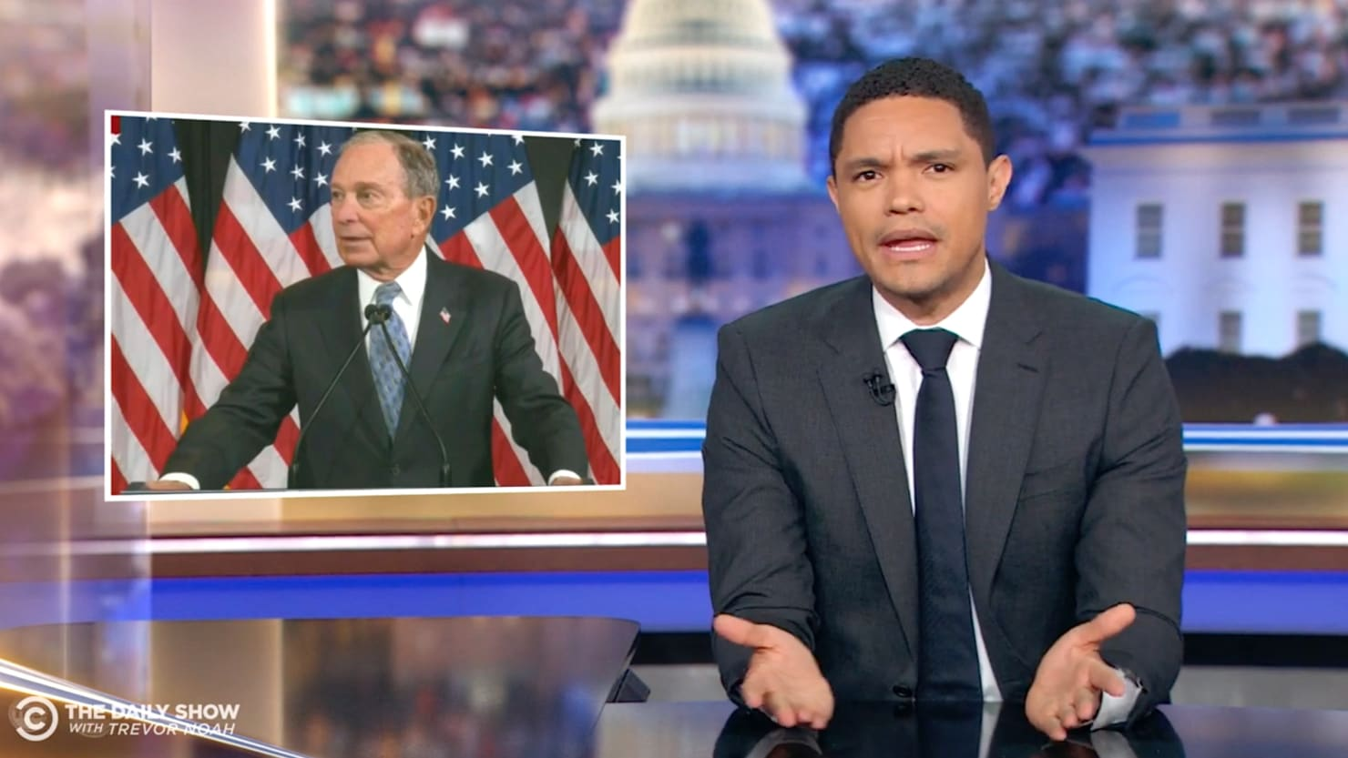 Trevor Noah Takes Mike Bloomberg to Task for Stop-and-Frisk