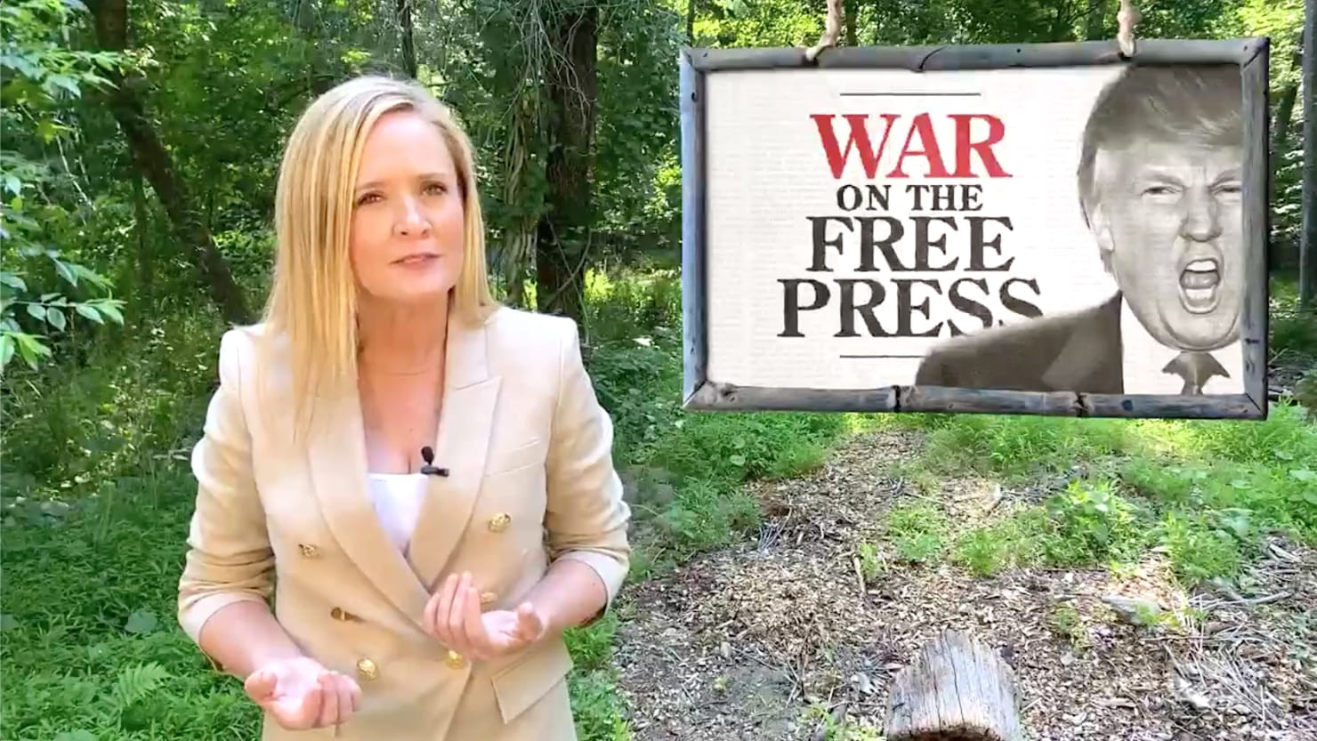 Samantha Bee Unloads on 'Unlovable Loser' Trump's Fox News Falling-Out
